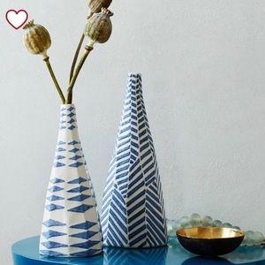 West Elm Medium Ceramic Bud Vase
